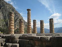 Delphi-Temple of Apollo