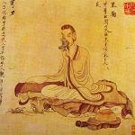 Tao Yuanming by Chen Hongshou (from Wikipedia.org)