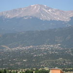 THE MOUNTAIN - Pikes Peak as seen from Colorado Springs